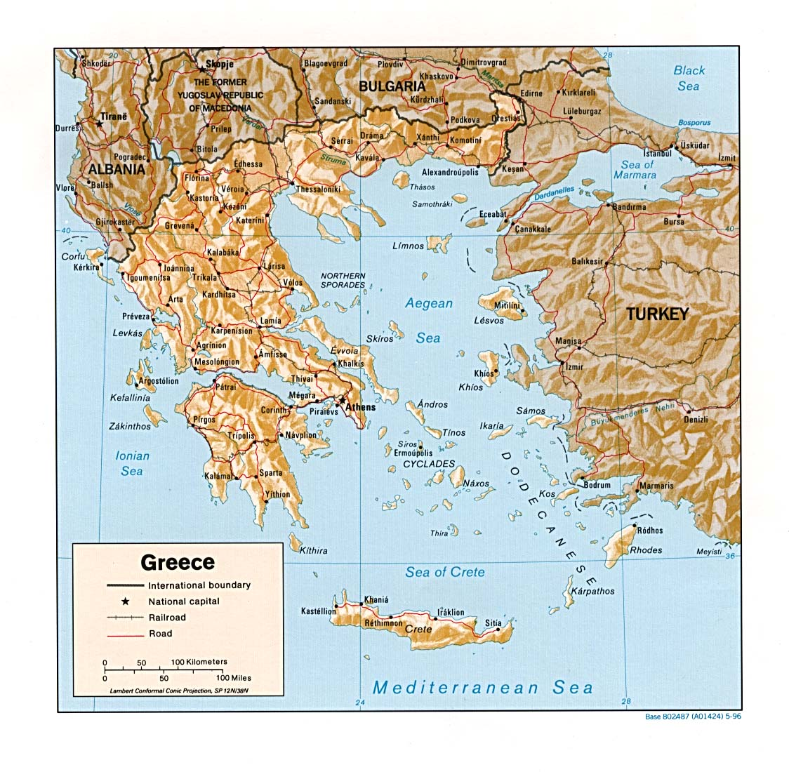 Ancient Greece Map With Cities.Greece Maps Perry Castaneda Map Collection Ut Library Online
