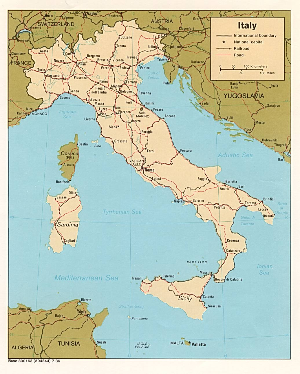 Italy Maps PerryCastaeda Map Collection UT Library Online