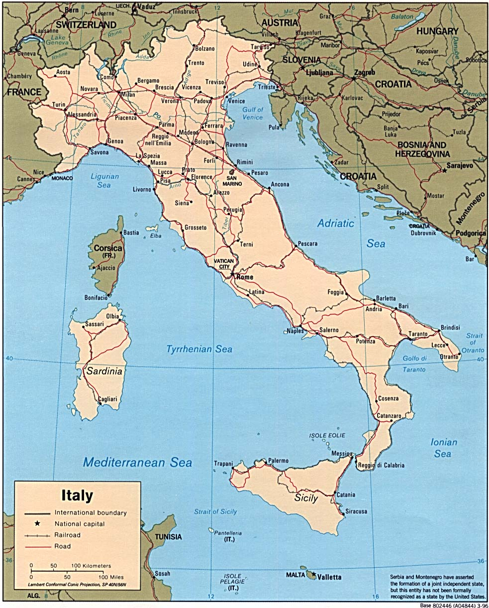 Italy Maps - Perry-Cas...