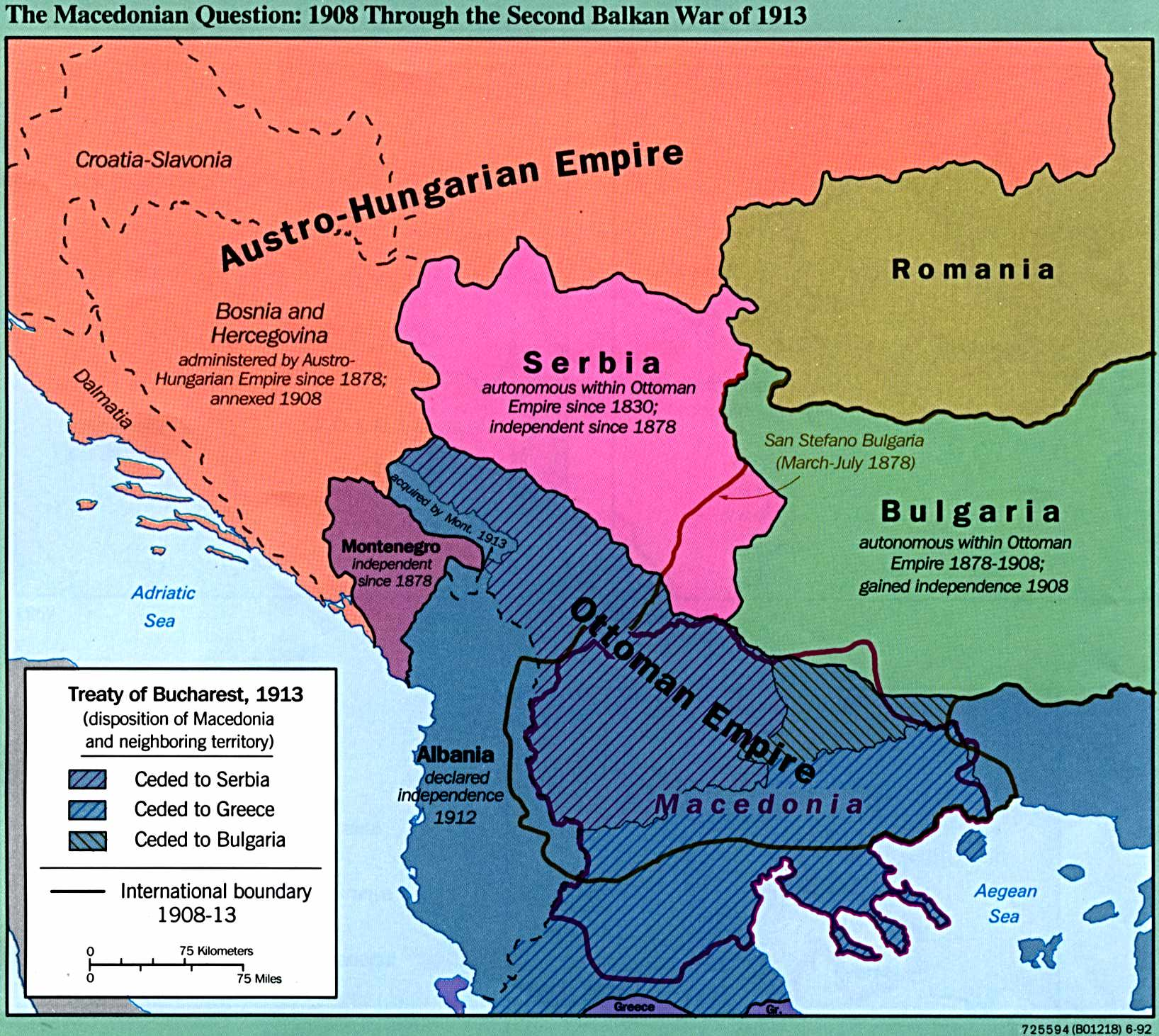 Former yugoslavia maps perry castaeda map collection ut library former yugoslavia maps gumiabroncs Image collections