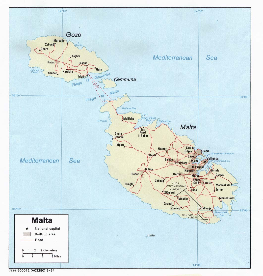 Picture of: Malta Country Profile Nations Online Project