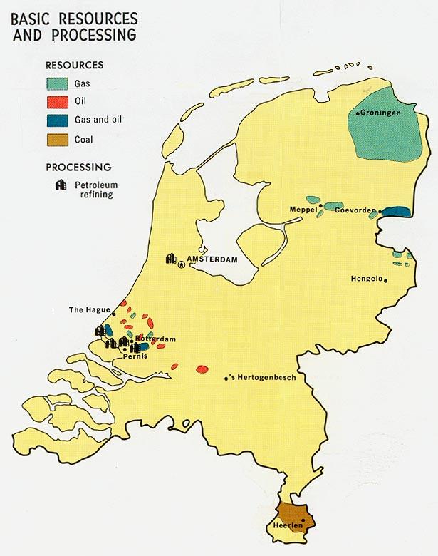 Netherlands Natural Resources Information