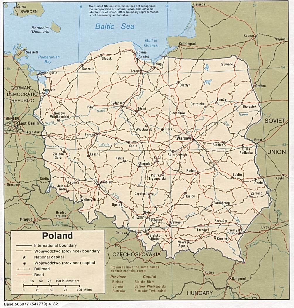 Poland Maps PerryCastaeda Map Collection UT Library Online