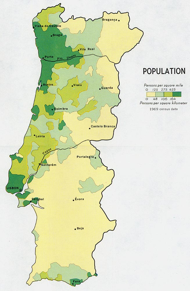 Portugal Maps - Perry-Castañeda Map Collection - UT Library Online