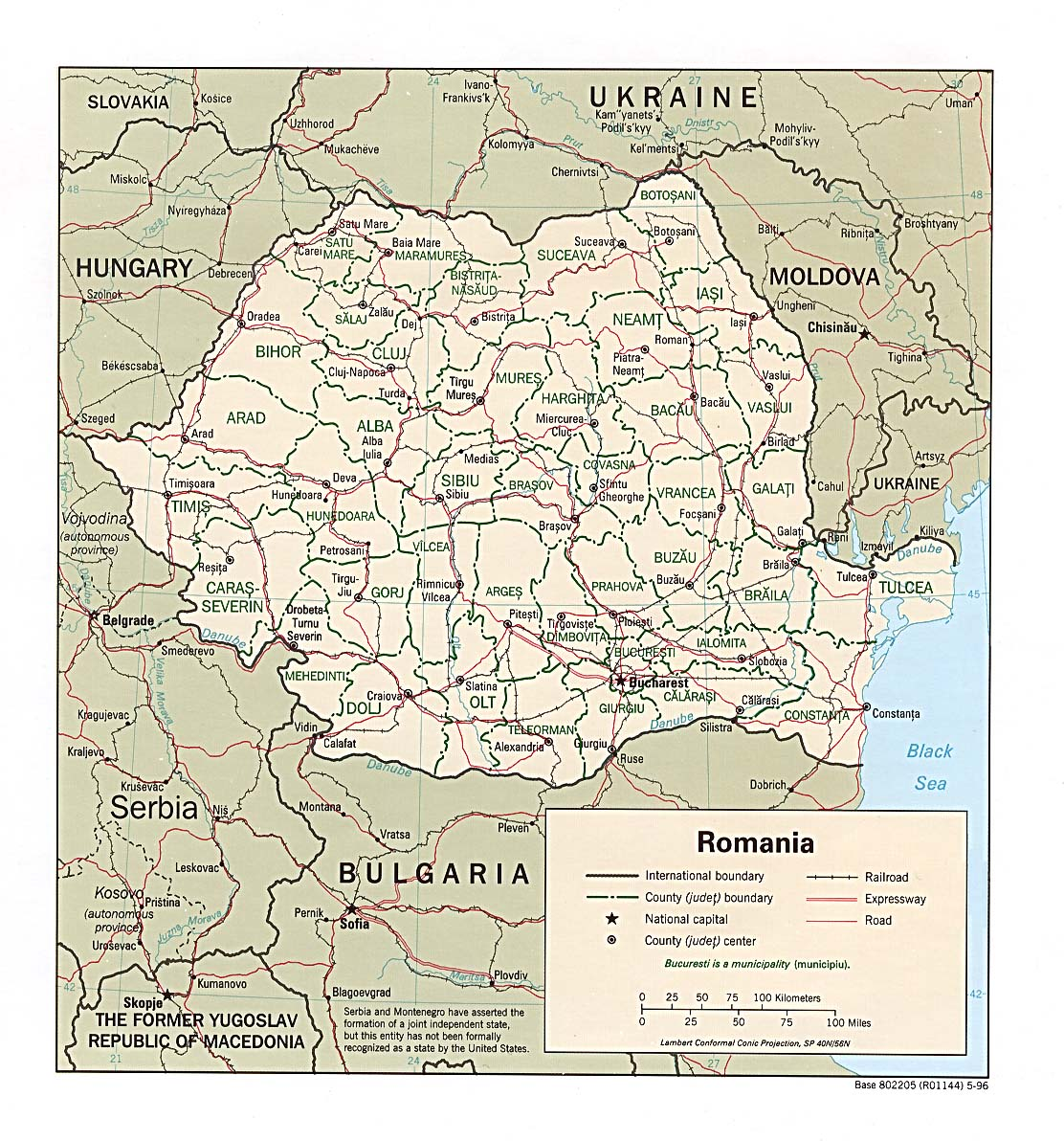 Romania Maps - Perry-Castañeda Map Collection - UT Library Online
