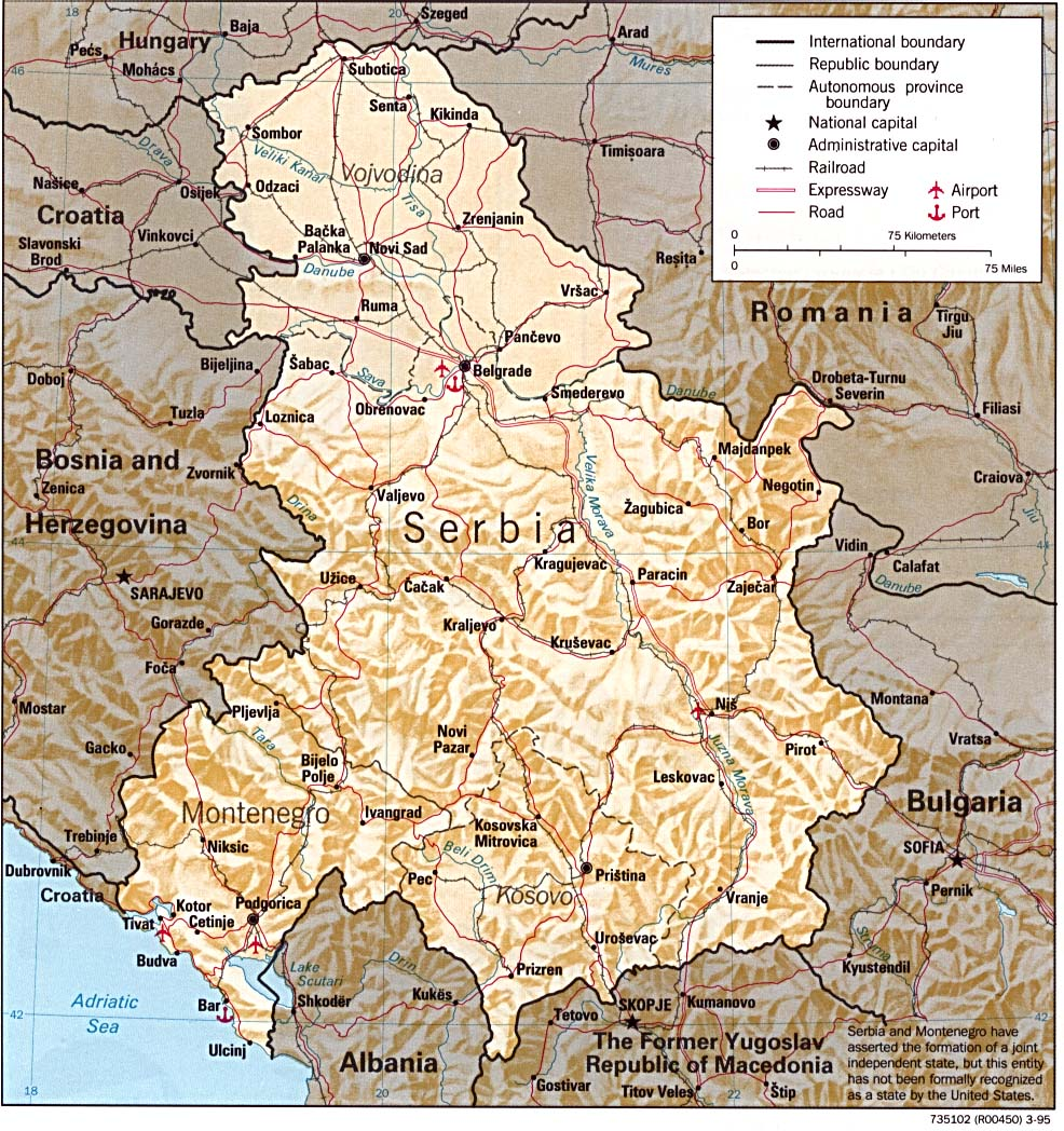 Serbia Maps PerryCastaeda Map Collection UT Library Online