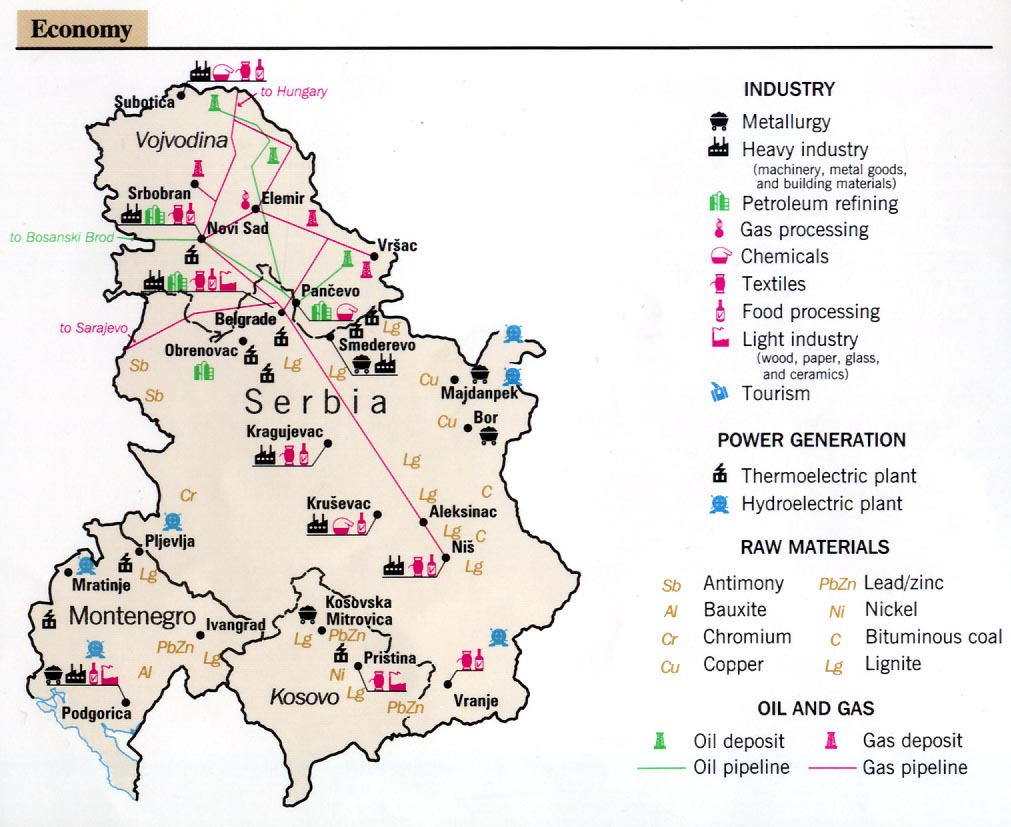 Serbia Natural Resources