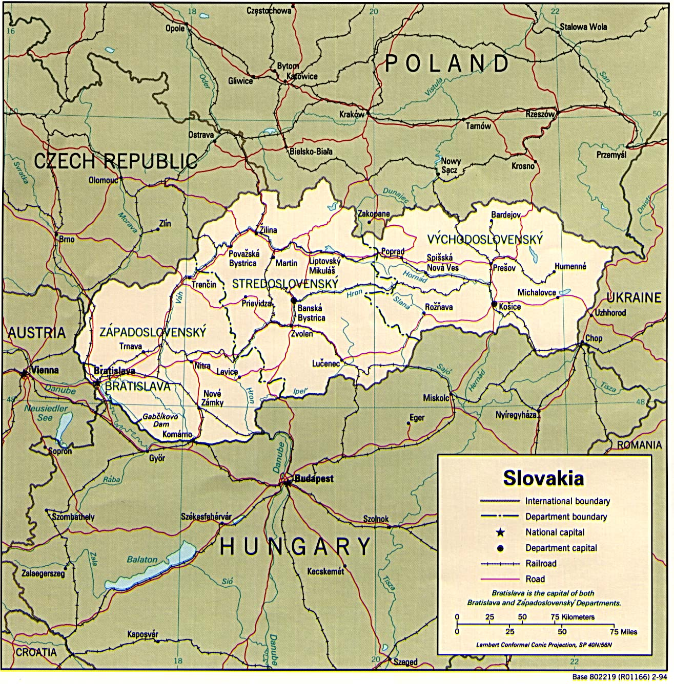 Slovakia Maps - Perry-Castañeda Map Collection - UT Library Online