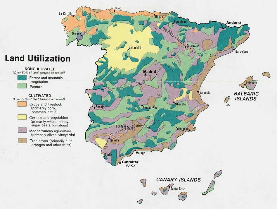 Spain Maps - Perry-Castañeda Map Collection - UT Library Online