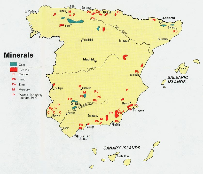 Natural Resources Not In Portugal