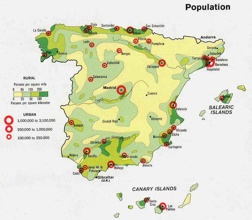 Full Map Of Spain.Spain Maps Perry Castaneda Map Collection Ut Library Online