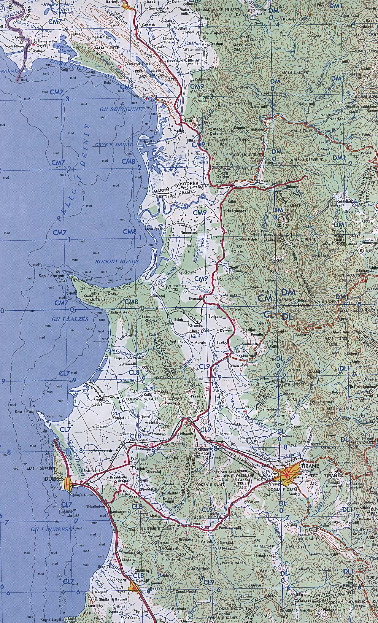 Albanien in Maps a Link Atlas