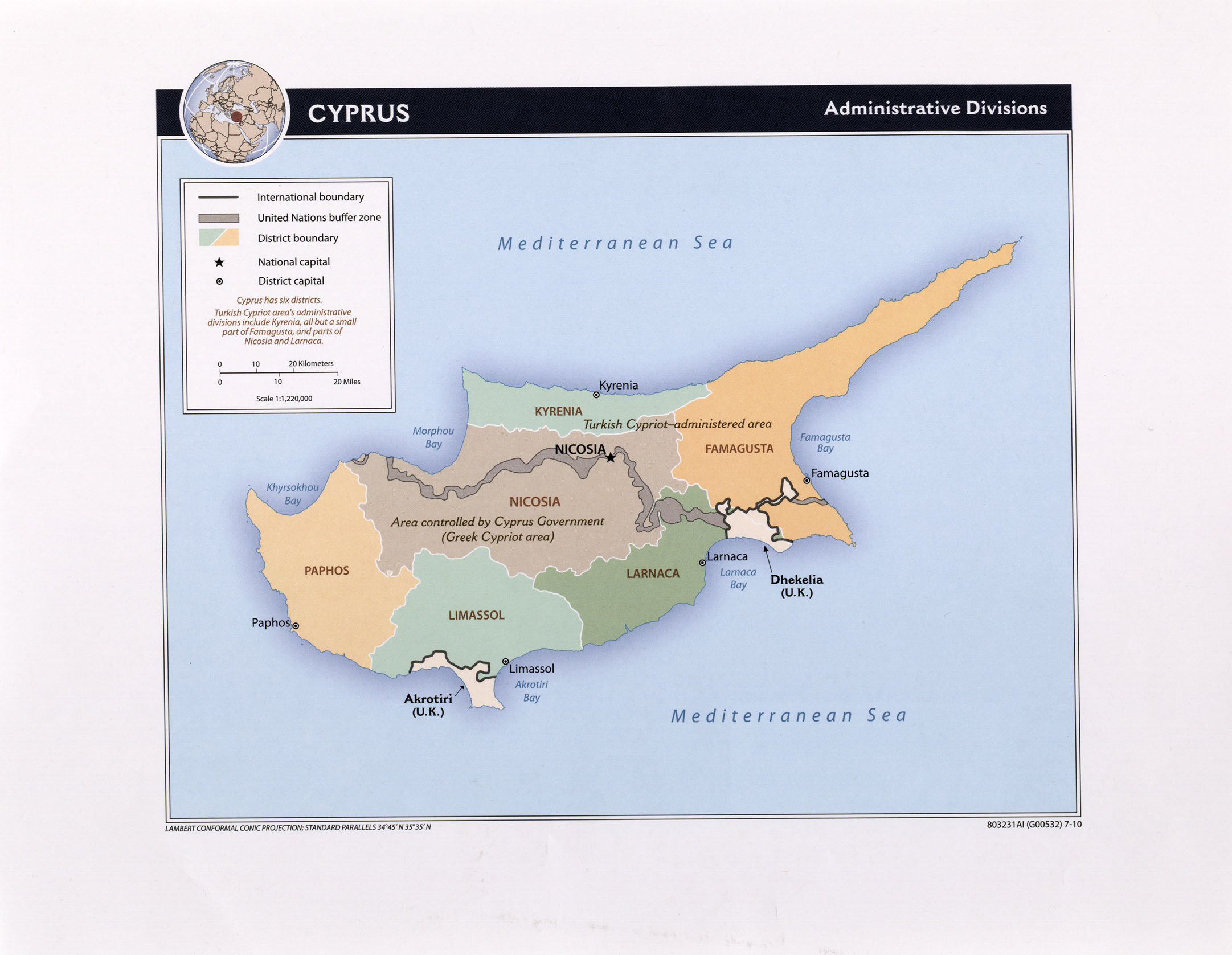 Cyprus Maps PerryCastaeda Map Collection UT Library Online