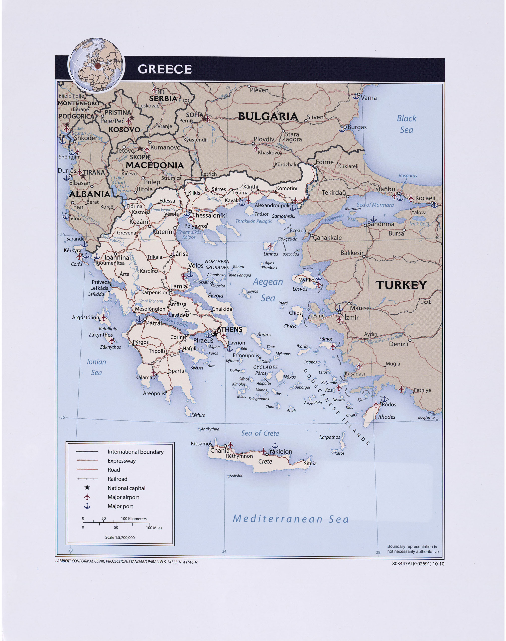 Greece Maps - Perry-Castañeda Map Collection - UT Library Online
