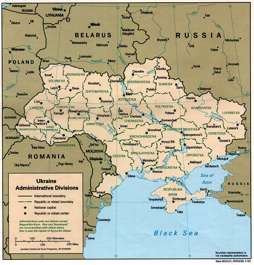 Ukraine Maps - Perry-Castañeda Map Collection - UT Library Online