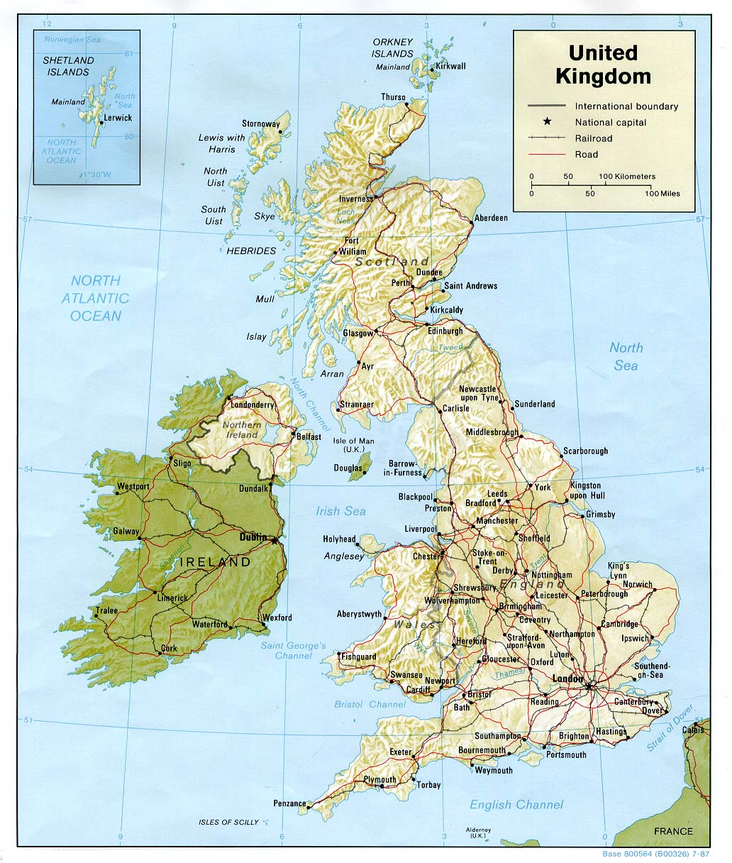 Map Of England And Britain.United Kingdom Maps Perry Castaneda Map Collection Ut Library Online