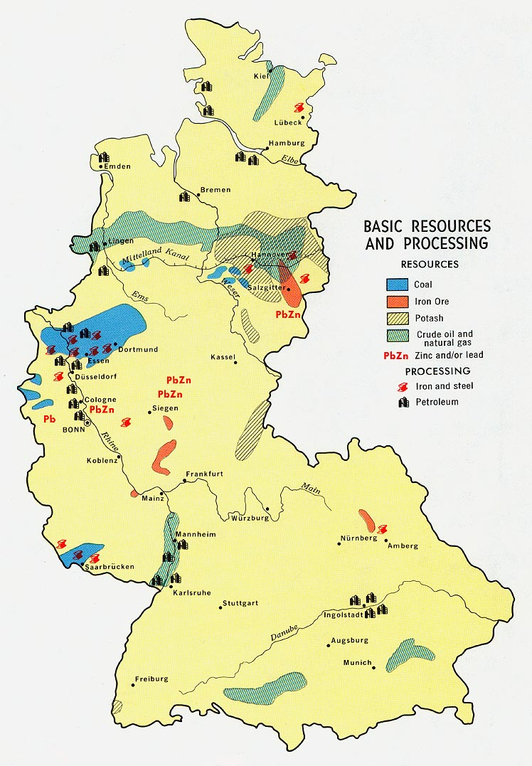 germany western basic resources