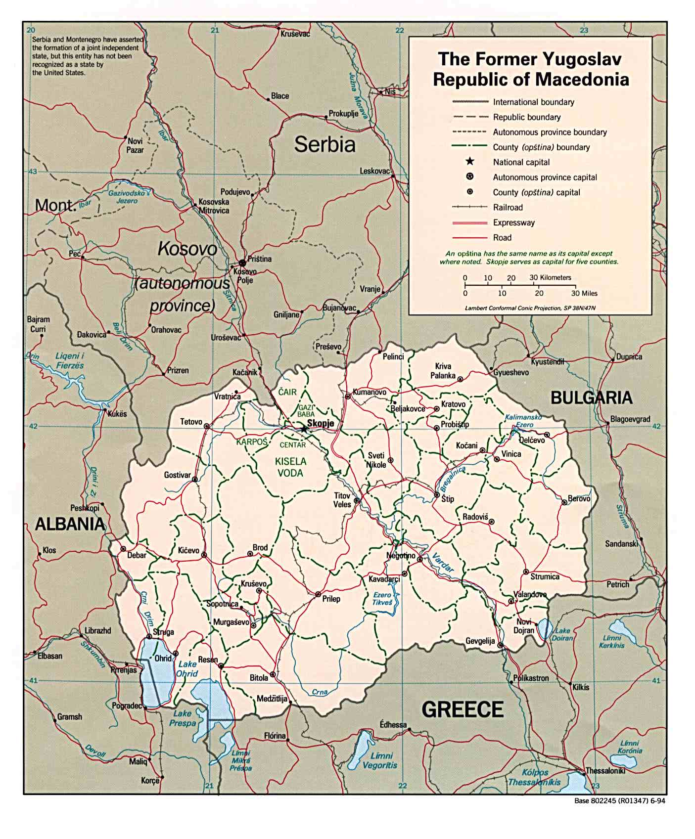 Macedonia maps perry castaeda map collection ut library online macedonia gumiabroncs Image collections