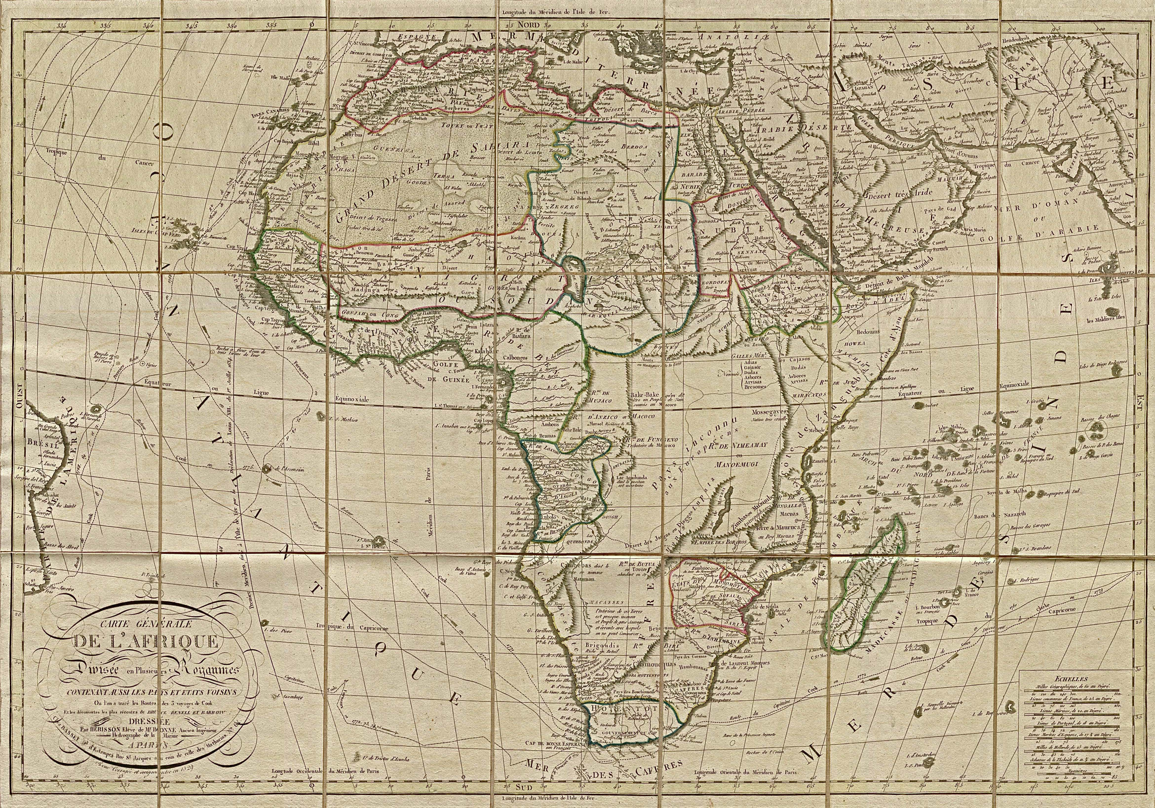 Old Map Of Africa Biafra is our Ancestors and Ancestral Habitation