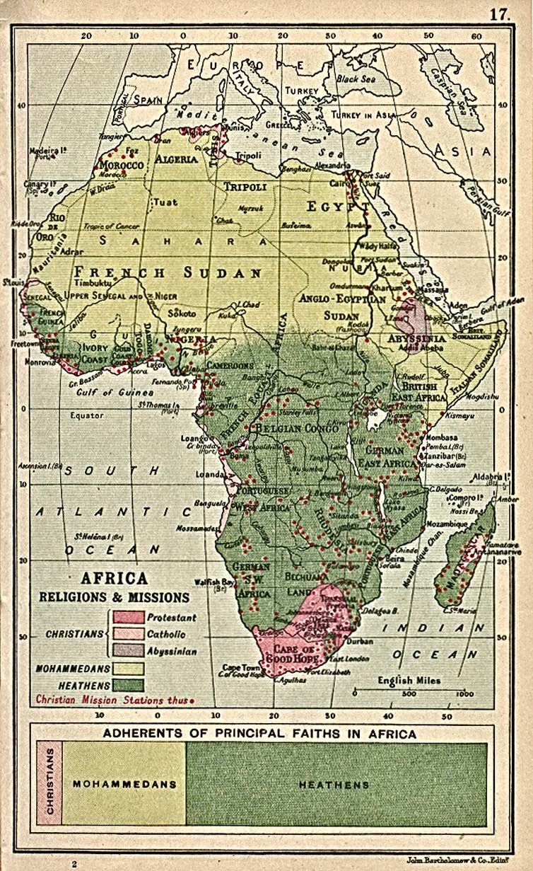 Africa Historical Maps   Perry Castañeda Map Collection   UT