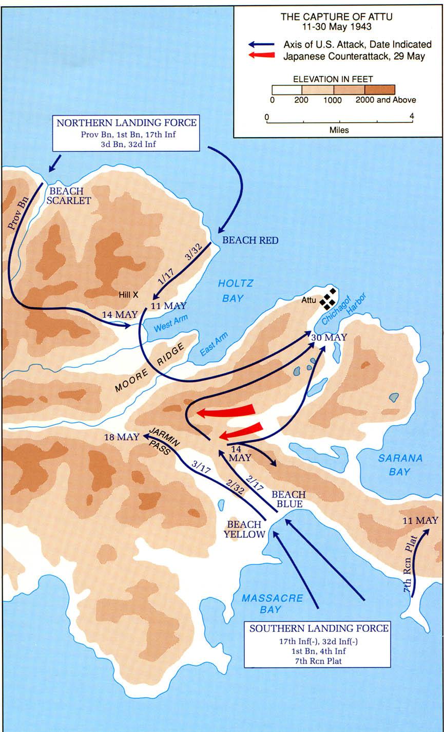 Operation Landcrab: La reprise d'Attu par les américains Aleutians_attu_1943