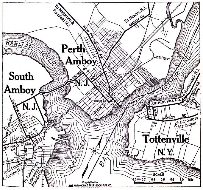perth amboy and south amboy new jersey and tottenville new york 1920