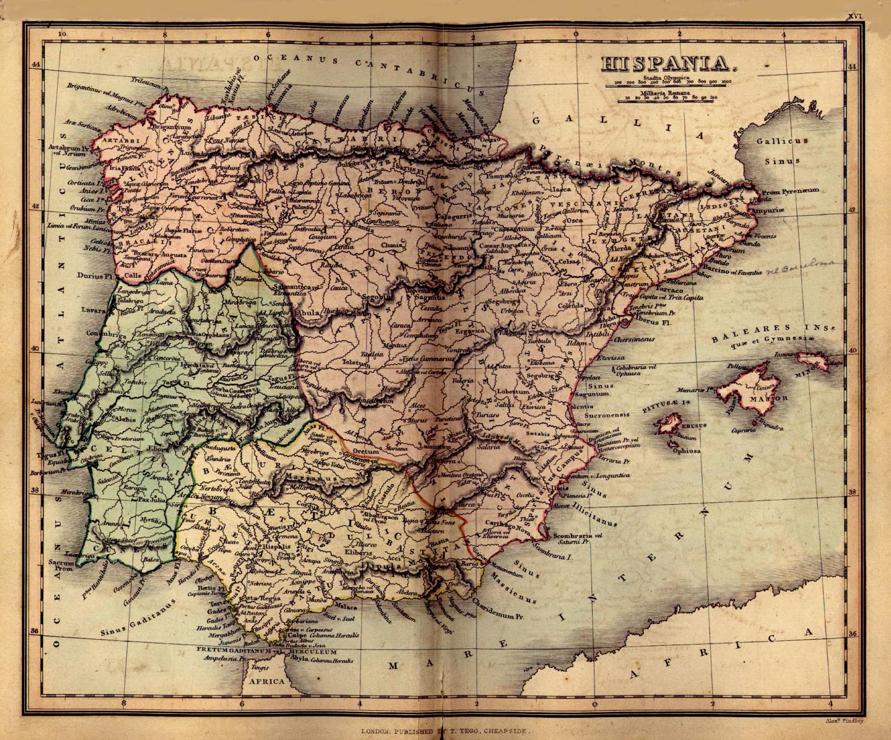 Spain Maps PerryCastañeda Map Collection UT Library Online - Spain historical map