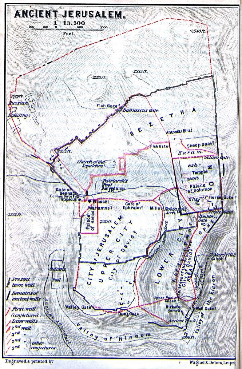 Jerusalem Historical Atlas