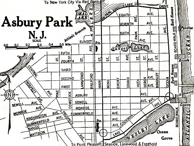 United States Historical City Maps PerryCastañeda Map - New jersey on a map of the usa