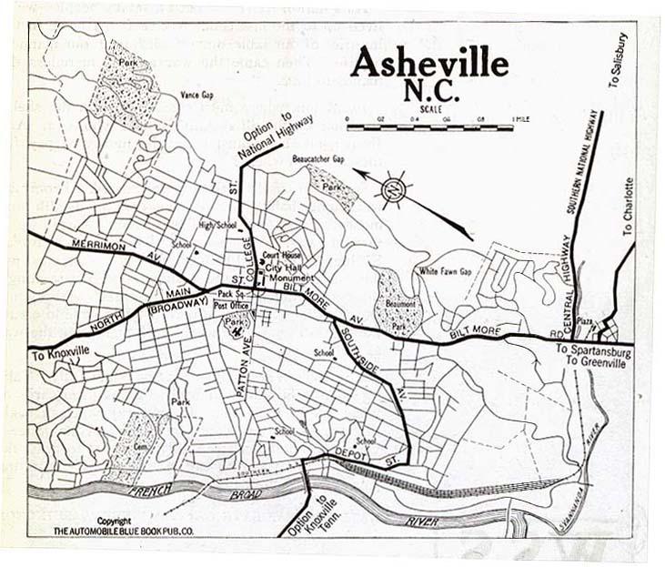 United States Historical City Maps PerryCastañeda Map - Map of no carolina
