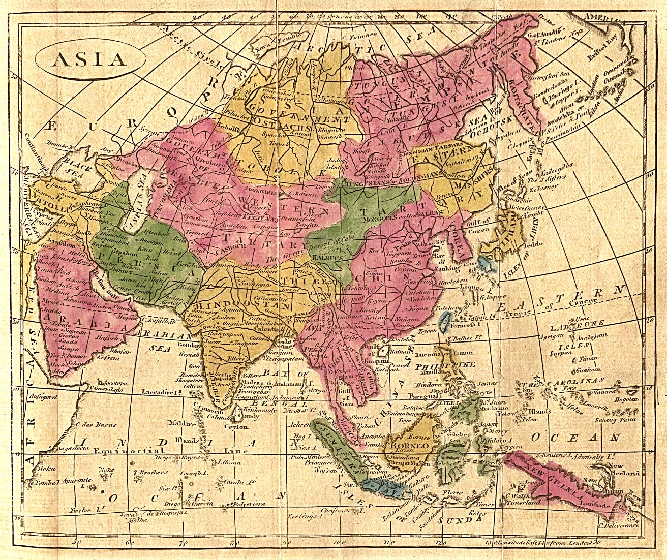 Geography Map Of Asia.Asia Historical Maps Perry Castaneda Map Collection Ut Library