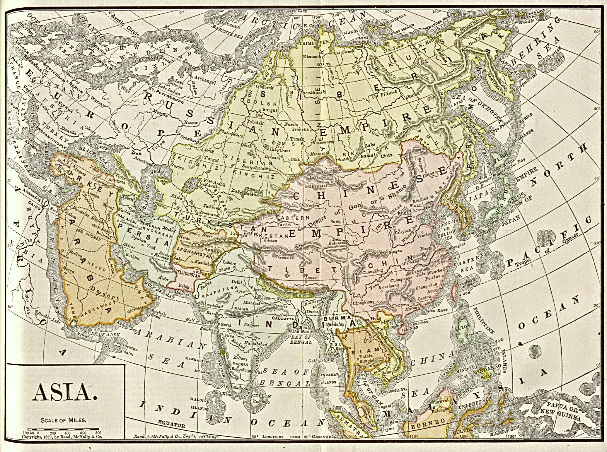 Asia historical maps perry castaeda map collection ut library asia 1892 gumiabroncs Gallery