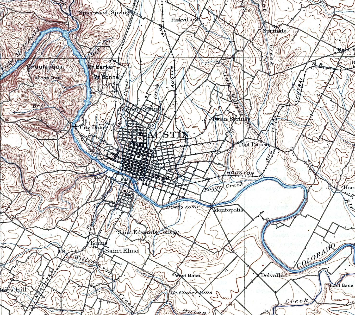 U S Historical City Maps