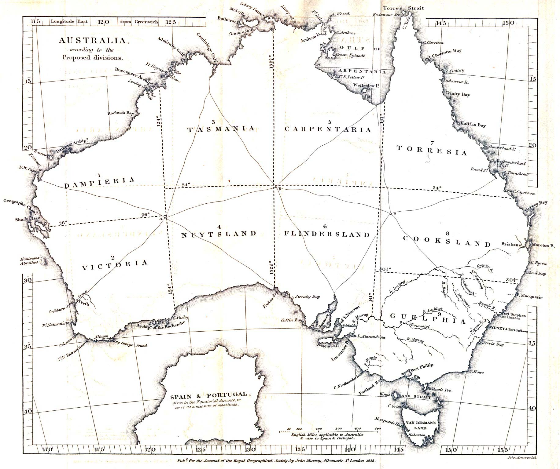 Australia And The Pacific Historical Maps PerryCastañeda Map - Australia detailed map