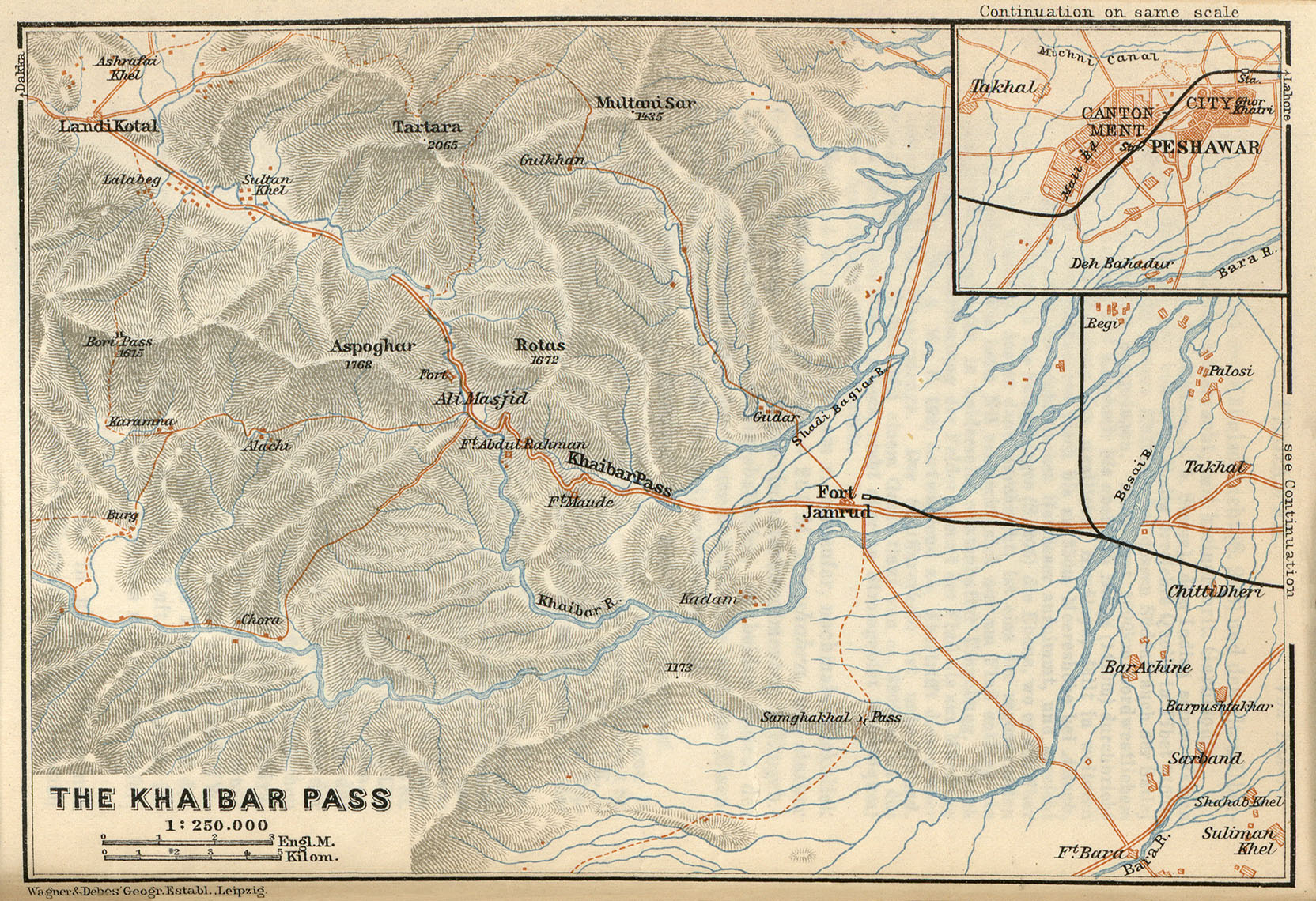 Baedeker Indien 1914 Maps PerryCastaeda Map Collection UT