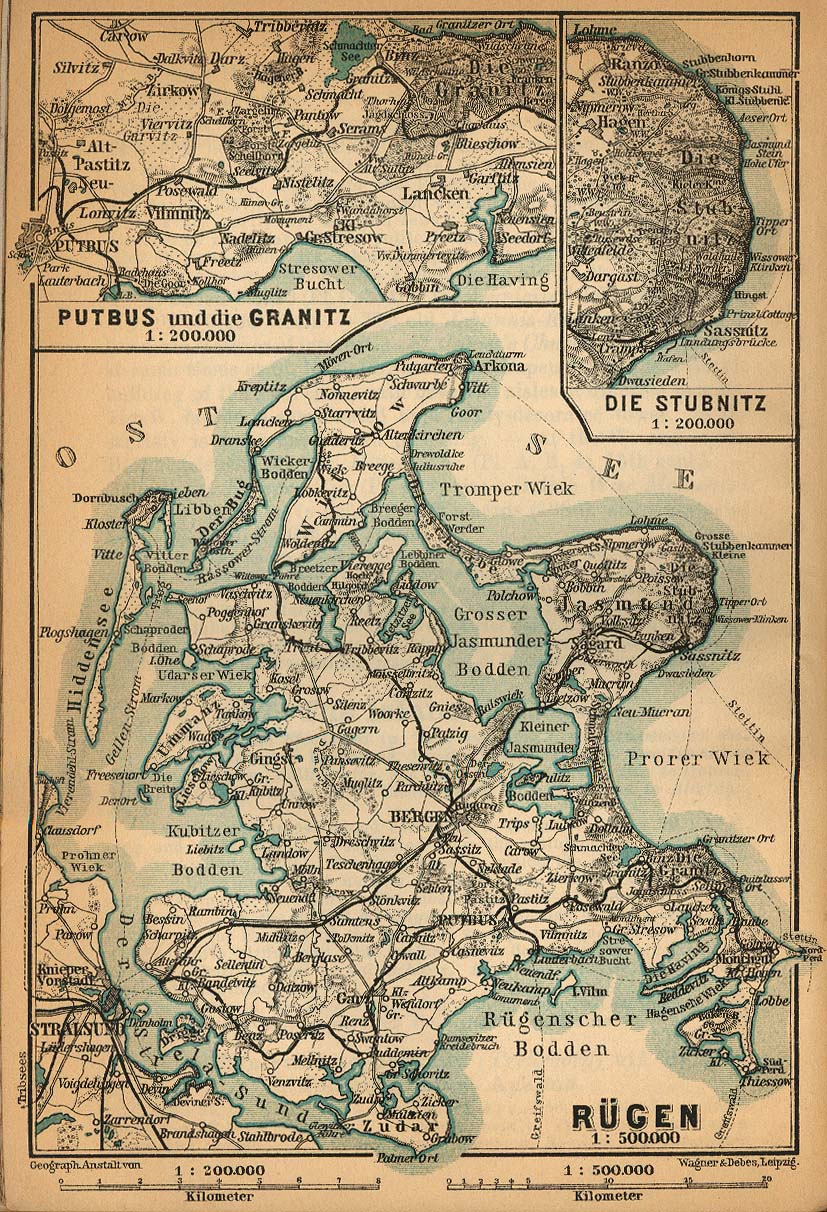 Baedekers Northern Germany PerryCastañeda Map Collection UT - Germany map full