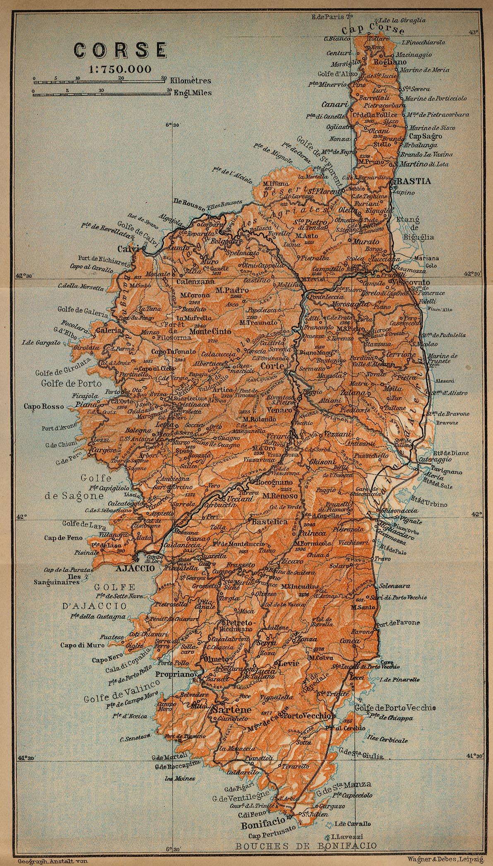 Relativ Corse : Histoire, Patrimoine, Cartes & Documents en ligne LEXILOGOS >> RY43