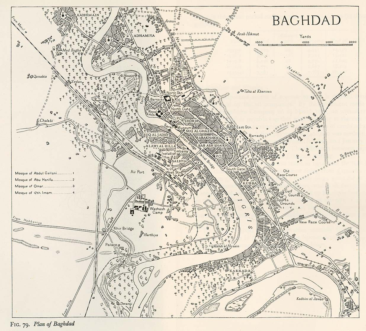 Iraq Maps Perry Casta 241 Eda Map Collection Ut Library Online
