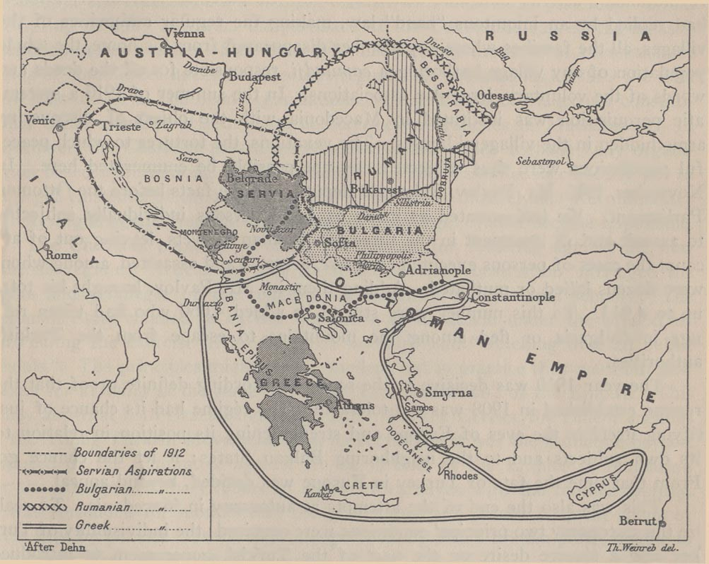 The Balkans Historical Maps - Perry-Castañeda Map Collection - UT ...