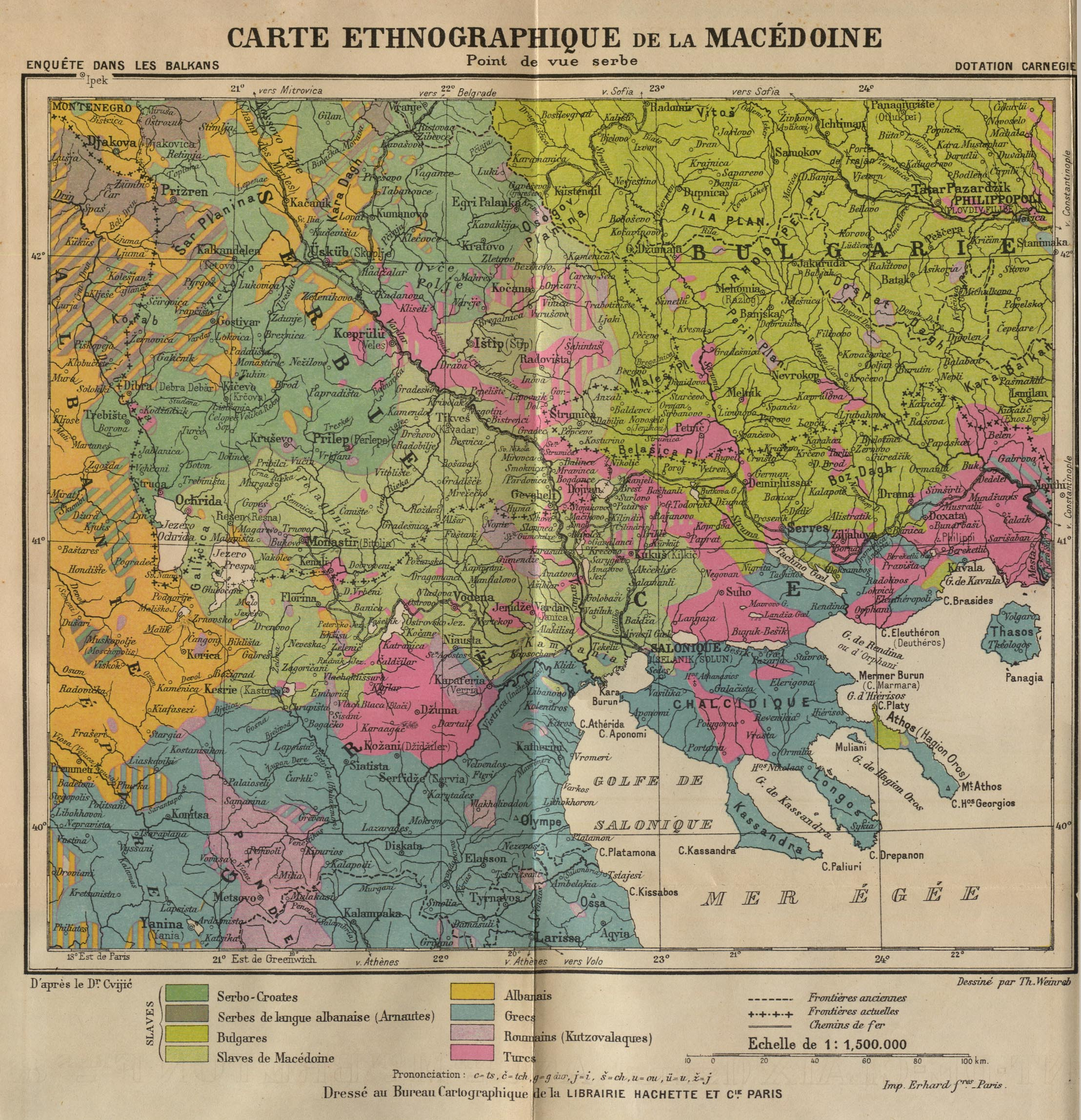 The Balkans Historical Maps PerryCastañeda Map Collection UT - Map of serbia