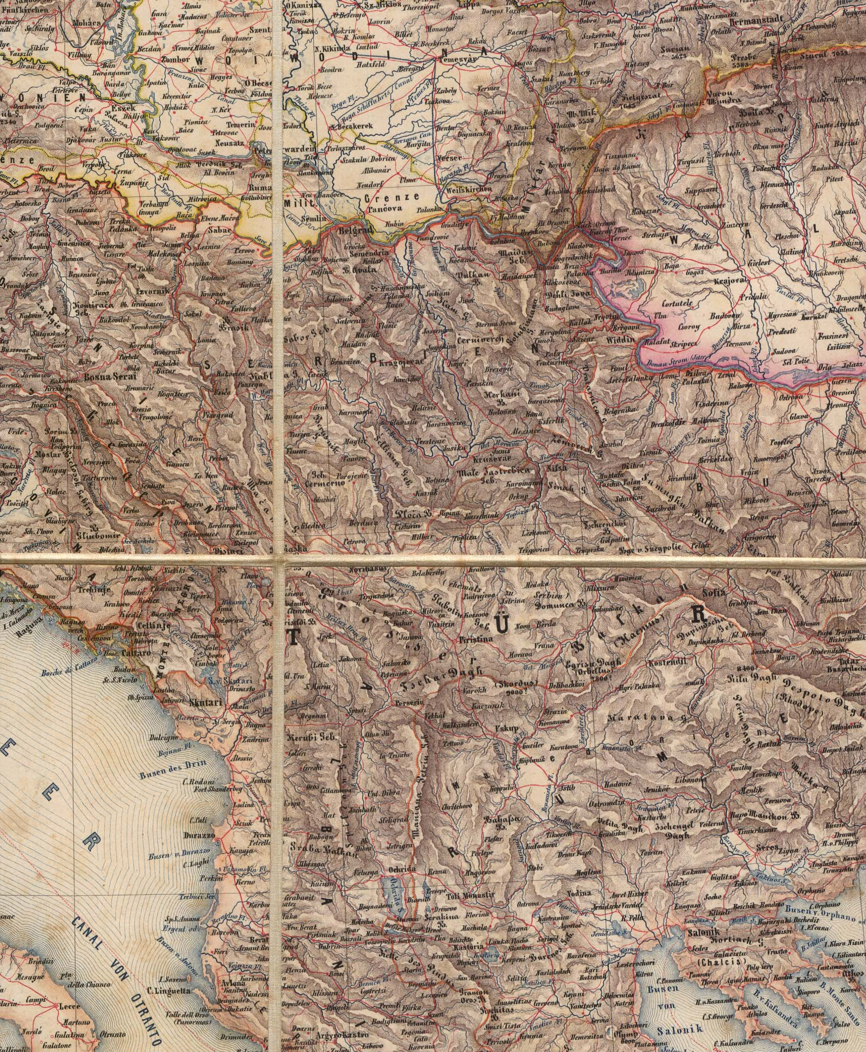 Historical: The Balkans Historical Maps
