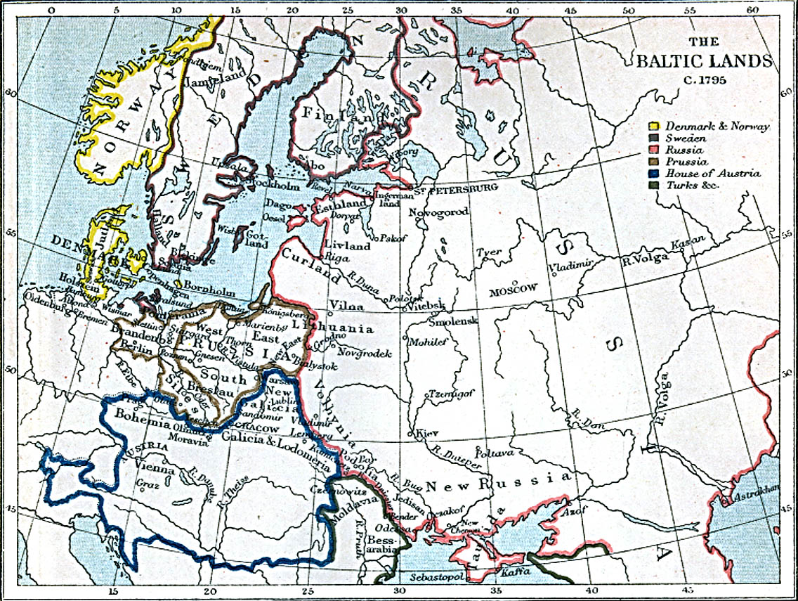 whkmla historical atlas of poland Political Map of Europe After WW2 external online maps 1772 1795 freeman s