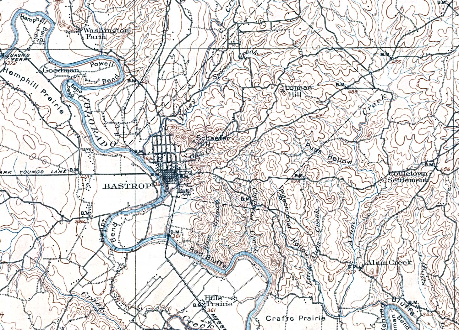 United States Historical City Maps PerryCastañeda Map - Original prairie areas in the us map