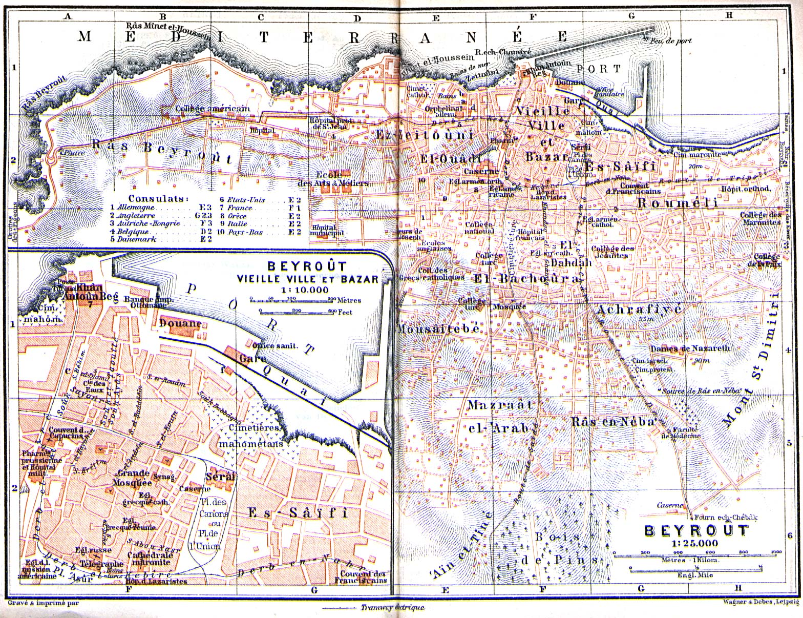 Lebanon Maps PerryCastaeda Map Collection UT Library Online