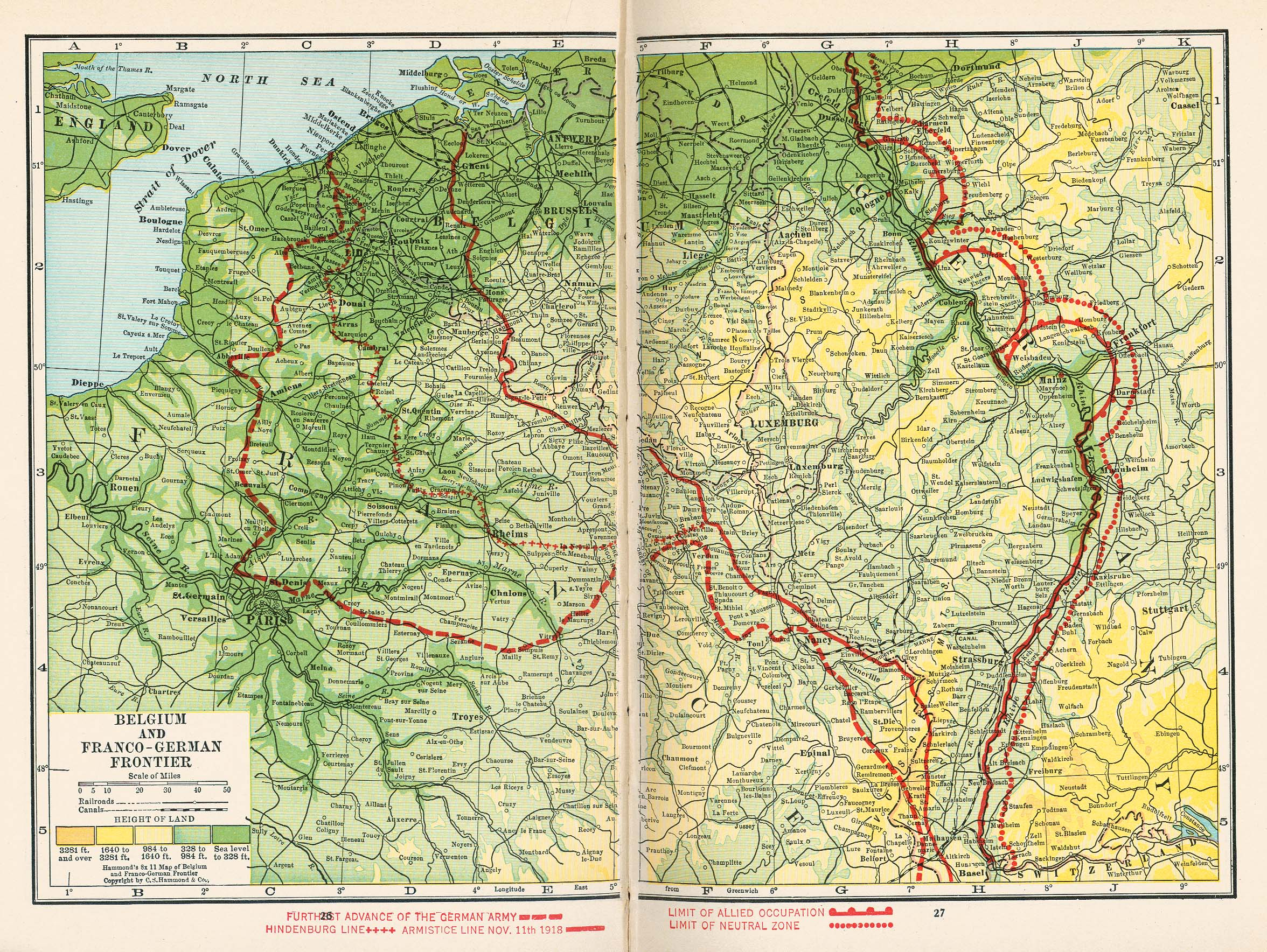 belgium and franco german frontier