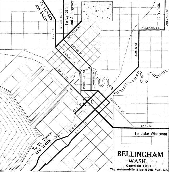 City Of Ferndale Wa Map