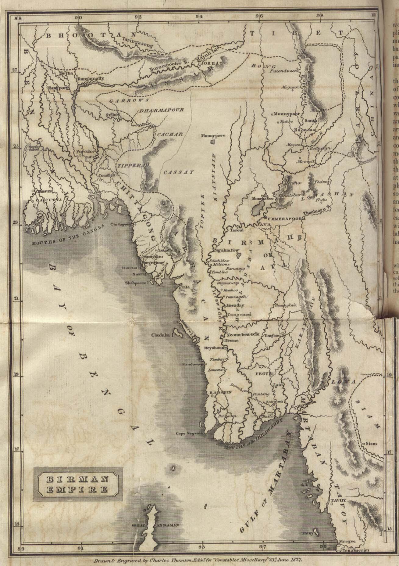 Burma Myanmar Maps PerryCastaeda Map Collection UT Library