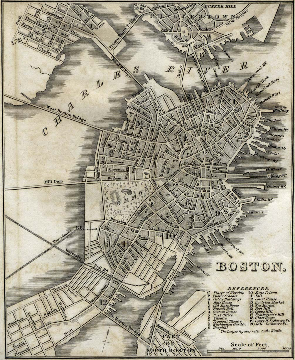 United States Historical City Maps PerryCastañeda Map - 1800s map of us