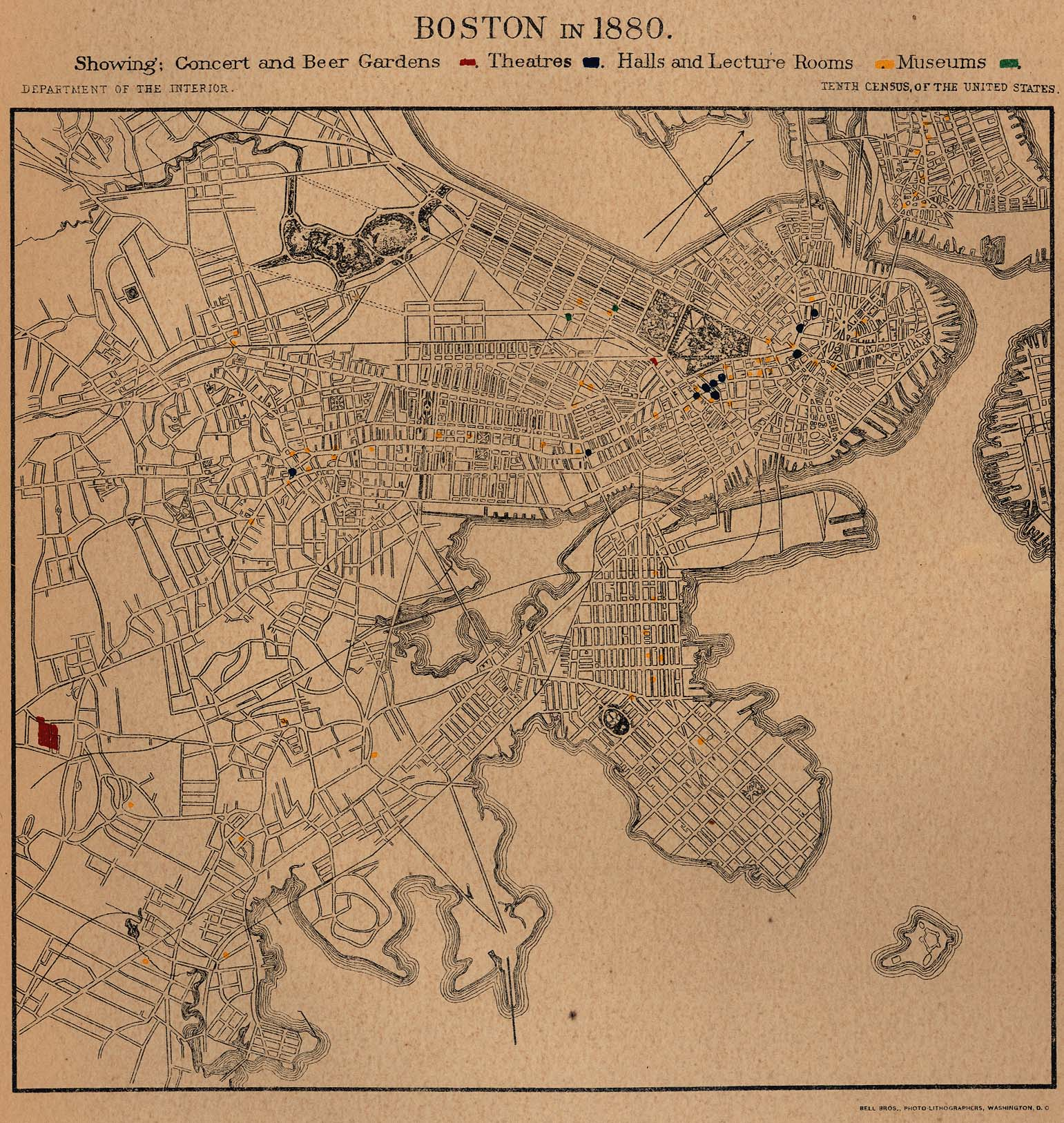 United States Historical City Maps - Perry-Castañeda Map Collection on