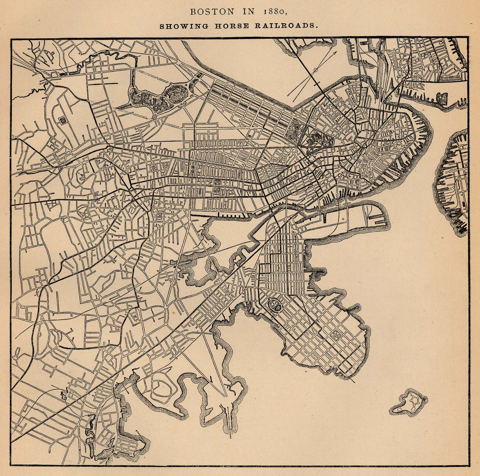 Boston Map Historical Sites.Massachusetts Maps Perry Castaneda Map Collection Ut Library Online